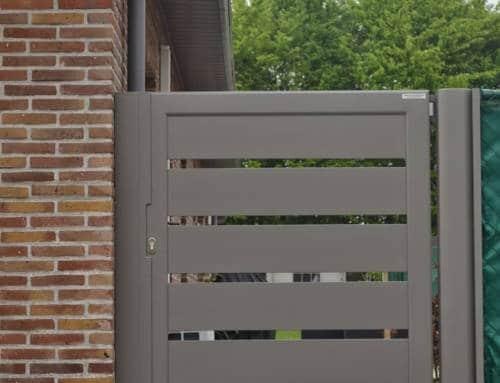 Aluminium 48 – Lammel 200 horizontaal (enkele draaipoort)