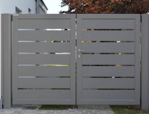 Aluminium 49 – Lammel 200 horizontaal (dubbele draaipoort)